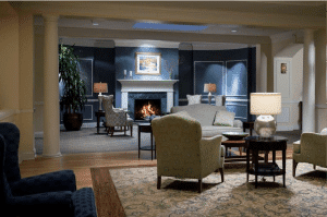 Development planning at Meadowood Senior Living lead to a beautiful new environment.