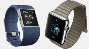 Photo Credit: http://www.wareable.com/smartwatches/apple-watch-v-fitbit-surge-2015-super-watch-showdown