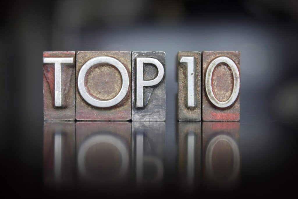 Here's a list of the top 10 posts for 2108 on the Love & Company blog