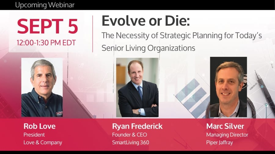 senior living strategic planning webinar